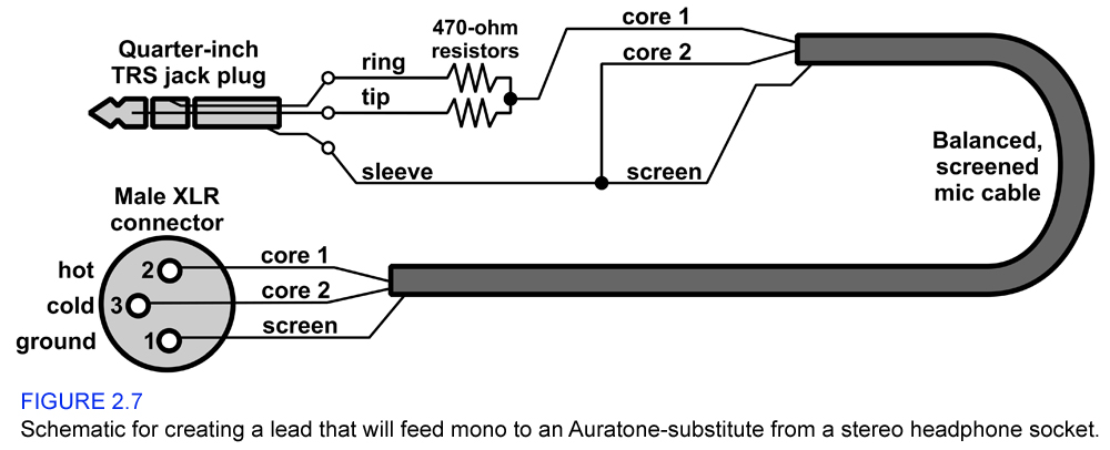 Schematic to make a stereo to mono adapter cable diyaudio schematic to make a stereo to mono adapter cable asfbconference2016 Images