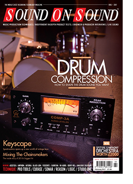 Drum Compression (Sound On Sound magazine cover feature)