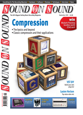 Compression Made Easy (Sound On Sound magazine cover feature)